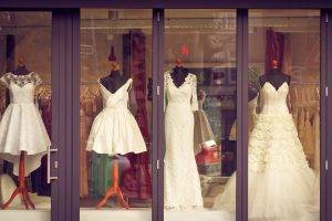 Front Of Bridal Boutique