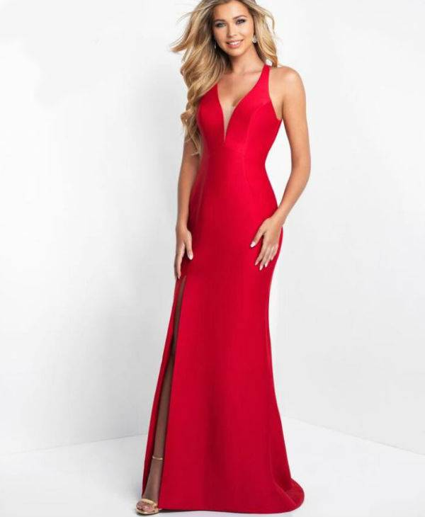 Lady In Red Prom Dress